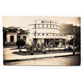 Cartao Postal Cine Brasil Caratinga ( Mg ) - Anos 50