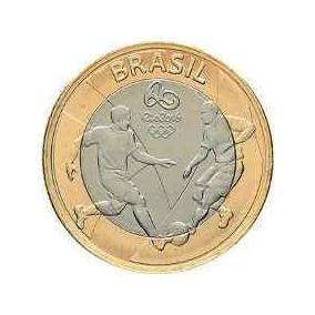 Moedas Olímpicas Rio 2016 Futebol