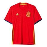 Camisa Espanha Eurocopa 2016 - Camisas de Futebol no Mercado Livre ... a4f5d03c77ff7