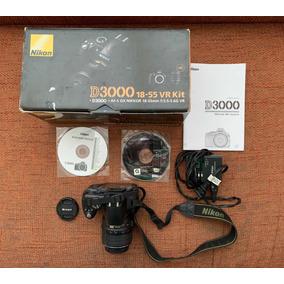 Cámara Nikon D3000 18-55 Vr Kit