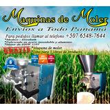 Maquinas De Moler Industriales 110v Cordon De 4´de Largo