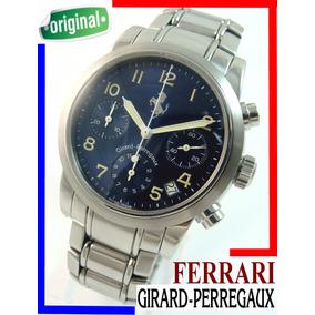 Girard Perregaux Ferrari Cronógrafo Auto. Aço-aço!