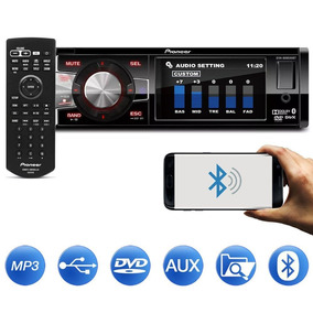 Dvd Player Pioneer Dvh-8880avbt Bluetooth Usb Tela 3,5 Po