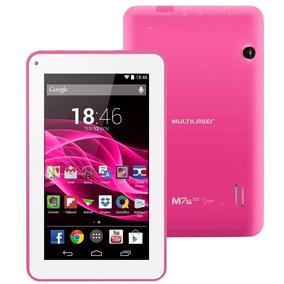 Tablet Multilaser M7s Quad Core Wi-fi -7 Rosa - Nb186