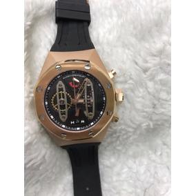 Relógio Audemar Piguet Oak Dourado Lindo Pronta Entrega