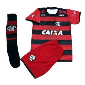 Conjunto Infantil Flamengo Time Futebol Com Meião 28-35 e70a38425ccbd