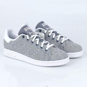sports shoes 46cee de928 Zapatillas adidas Stan Smith Cheetah Mujer Niños En Caja