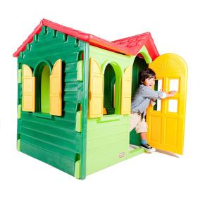 Casa De Campo Para Niños - Little Tikes - De Jardin - Verde