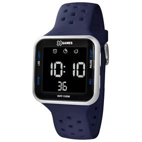 92b93322632 Relógio X-games Masculino Digital Xgppd092 Cinza Negativo