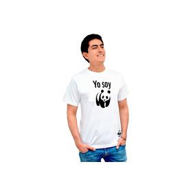 Camiseta Yo Soy Panda Wwf Cuello Redondo Donación Mínimo