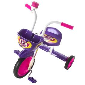 Velotrol Triciclo Bicicleta Infantil Menina Roxo