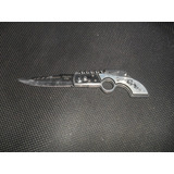 Canivete Faca Punhal Automatico Saca Rolhas Revolver Gravura