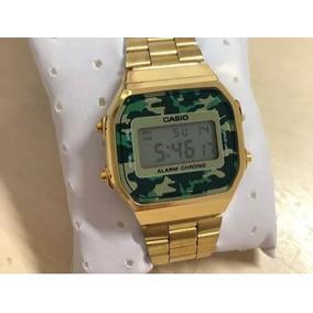 85c17834023 Relogio Cassio Camuflado Vintage - Relógios De Pulso no Mercado ...