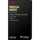 Multivitaminico Mega Men 180 Tablets Gnc - P.entrega*