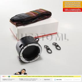 Porta Lentes 2x1 P/ Nikon Suporte C/ Alça + Frete Grátis Ap