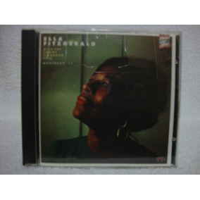 Cd Ella Fitzgerald- With The Tommy Flanagan Trio- Montreux