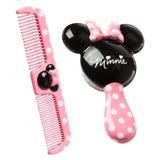 Set Combo Cepillo Y Peine Minnie Mouse Disney Safety 1st
