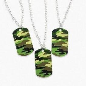 Camouflage Dog Tag Necklaces (4 Dozen) - Bulk  toy  3a97de96bfd