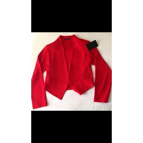 Hermoso Blazer Rojo Para Andar Fashion Invierno Navidad