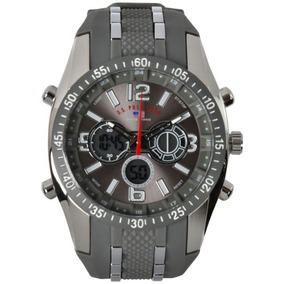 5cbe41de742 Relógio U.s. Polo Assn. Classic Mens Us4023 Black - Relógios De ...