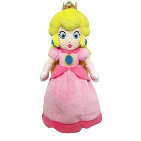 Super Mario Bros Mario Princesa Peach Felpa Muñeca Figu-3560
