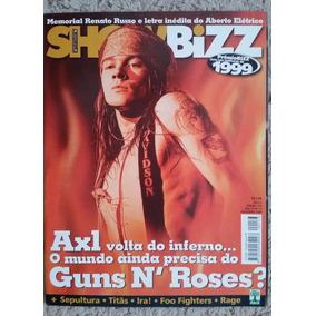 Revista Show Bizz Nº 173 Axl Rose Guns N Roses