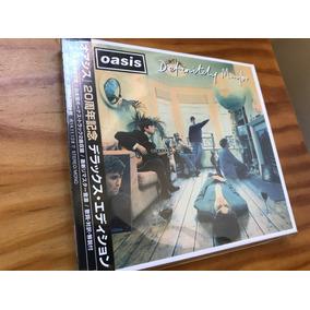 Oasis Definitely Maybe 3 Cd Box Set Japones