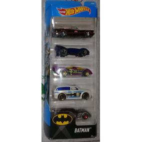 Hot Wheels Pack Batman - 2017 - 5 Unidades