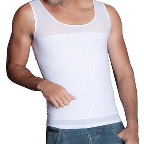 Faja Camiseta Modeladora Hombre Corrector Postura Discreta