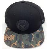 Gorra Oto Caps Negra Visera Plana Camuflado Militar 6601f9701c5