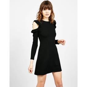 Vestido mini ajustado bershka