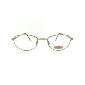 bdae136afeaf0 Armação Óculos Masculino Pierre Cardin 8534 Ouro Envelhecido