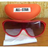 Óculos De Sol All Star Vermelho preto Degradê - Novo a2f9eb408c