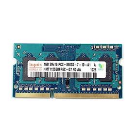 Memoria Ram Hynix Kit 2gb (2x1gb) Sodimm Ddr3 Pc8500 Laptop