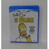 Bluray Original Os Simpsons - O Filme