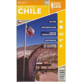 Mapa Rodoviário Do Chile Dobrável