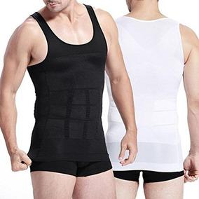 Camiseta De Compresión Modeladora Para Hombre 3x1 Con Envío