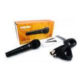 Micrófono Shure Sv-200 Con Cable Dinámico Vocal Soundgroup.