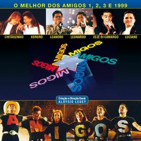 Amigos O Melhor Dos Amigos 1 2 3 E 1999 - Cd