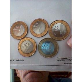 Moedas De 50 Anos Do Banco Central