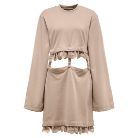 Puma X Fenty Kimono Sleeve Suspender Vestido Olivebranch Mul