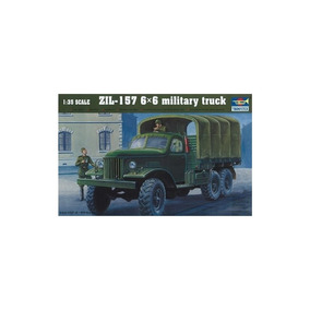 Trumpeter 01001modelo Kit Zil 1576x6 Camión Militar Soviétic 94a1ddf0ef7