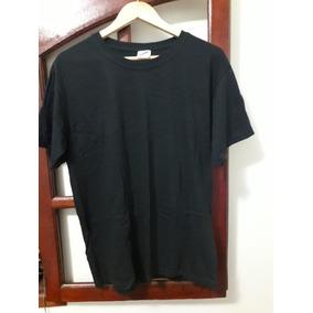 Camisa Camiseta Preta 100% Algodão Lisa aaef79a5696