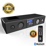 Barra De Sonido Bluetooth Pyle 3d Surround - Sistema De Soni