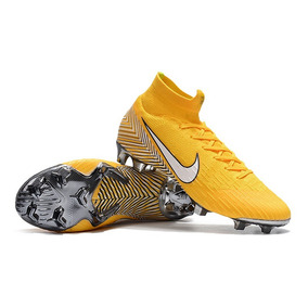 Chuteira Nike Mercurial Superfly Preta E Amarelo - Chuteiras no ... 18ec5c65abfa7