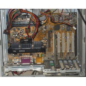 Remate Combo Tarjeta Madre, Intel Pentium Ii Y Ram Operativa