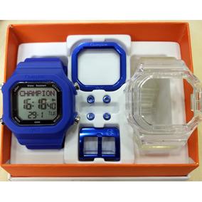 a56a6b54227 Pulseira Champion Transparente - Relógio Champion Unissex no Mercado ...