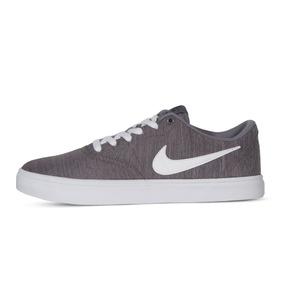 wholesale dealer 5c6f1 4b9be Zapatillas Nike Sb Check Gris Premium Canvas Hombre Mujer