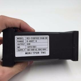 Controlador De Temperatura Com Sensor Termopar E Rele De 40a