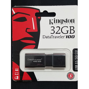 Pendrive Kingston 32gb Usb 3.1 Datatraveler 100
